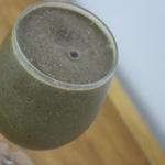 Mint, Chocolate & Strawberry Green Smoothie