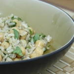 Tasty Garbanzo Bean & Rice Salad