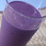 Blueberry, Coconut & Peanut Butter Smoothie