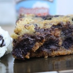 Chocolate Chip, Peanut Butter & Blueberry Cookie Pie