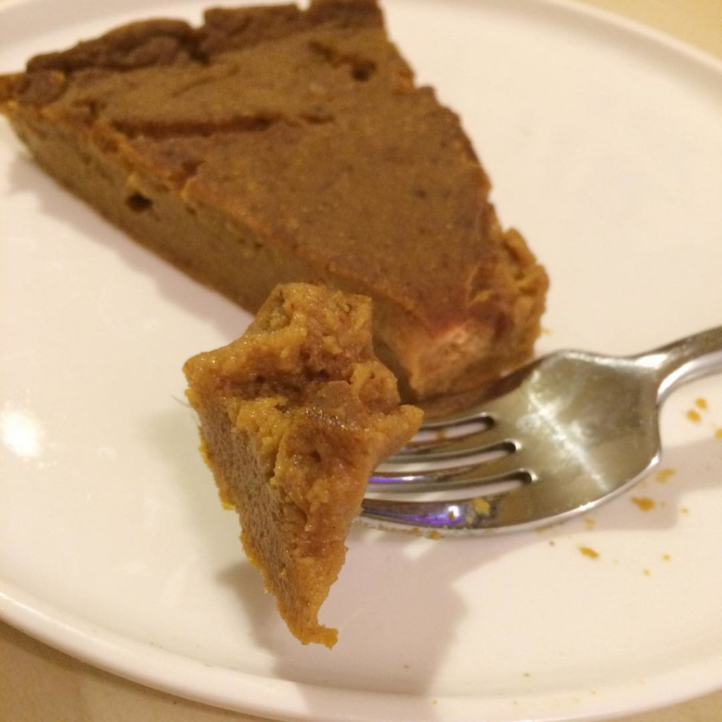 Impossible Vegan Pumpkin Pie from susanffvk! vegan veganfood whatveganseat plantbasedhellip