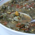 Spinach, Lentil & Rice Soup