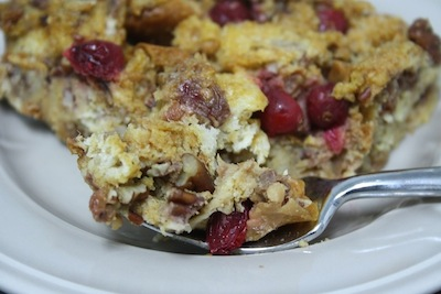 This bread pudding was so good! It has lots of flavor: the subtle ...