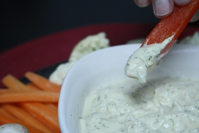 Greek Yogurt Onion Vegetable Dip