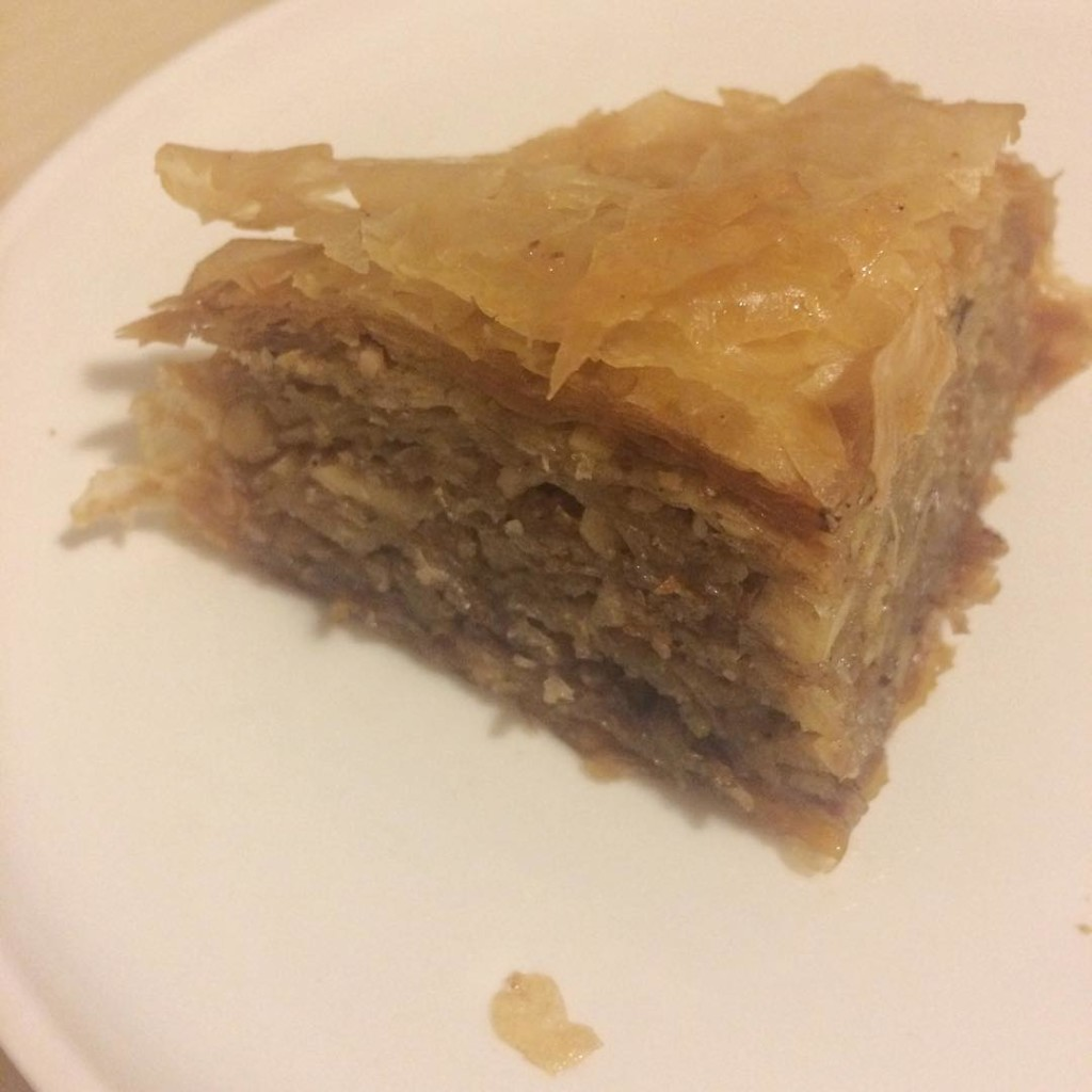 Vegan baklava from moutonvertmtl! vegan veganfoodshare veganfood plantbased plantpowerful whatveganseathellip