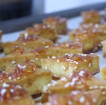 Sweet & Spicy Baked Pineapple Tofu