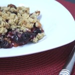 Peach & Blueberry Summer Crisp