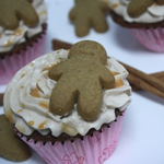 Thumbnail image for Gingerbread Cupcakes with Cinnamon Cream Cheese Frosting & Butterscotch Glaze