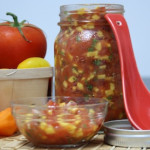 Fresh Mango and Tomato Salsa