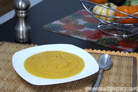 Acorn Squash and Carrot Soup 3