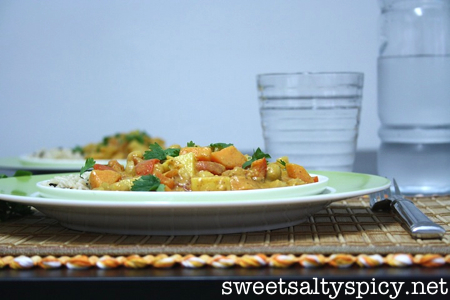 Almond Butter & Coconut Chickpea Curry 4