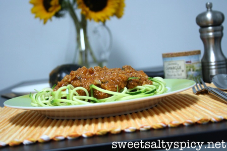 Cauliflower Vegan Bolognese 2