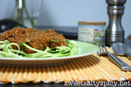 Cauliflower Vegan Bolognese 3