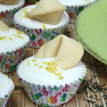 Green Tea Lemon Cupcakes with Honey Cream Cheese Buttercream