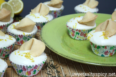 Green Tea Lemon Cupcakes with Honey Cream Cheese Buttercream 4