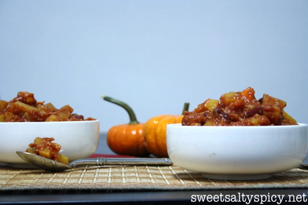 Sweet & Spicy Multi Squash Quinoa Chili 2