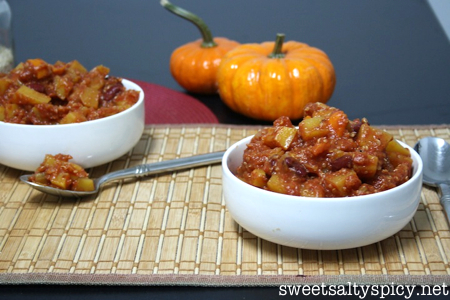 Sweet & Spicy Multi Squash Quinoa Chili 3