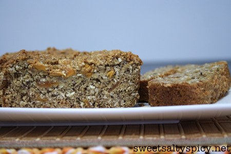 Mango and Coconut Banana Bread (vegan)