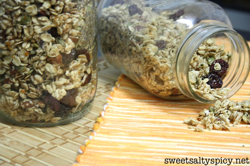 Cranberry Orange Granola Vegan Gluten-Free