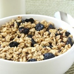 Cacao-Cherry Peanut Butter Granola