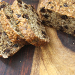 Raisin Oatmeal Banana Bread (Vegan and Oil-Free)
