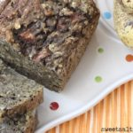 Pear Oatmeal Banana Bread
