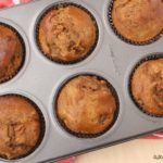 Pear Pea Protein Muffins